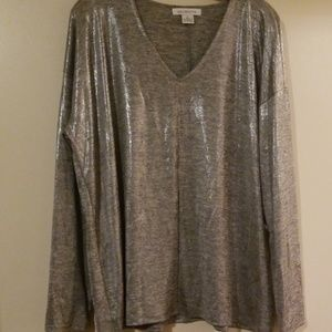 ❤NWT Liz Claiborne Pullover Top XL